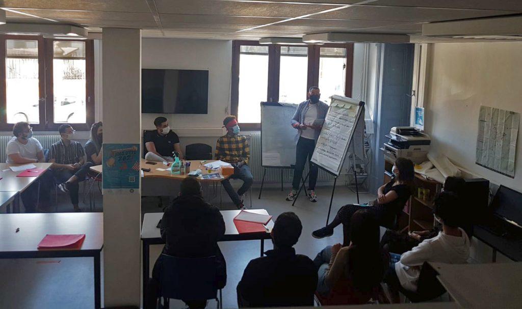 Un grand merci à Hasni Bekheira, fondateur de l'association STREET COIFF pour son intervention auprès d'un groupe Garantie Jeunes, sur le thème de l'engagement !